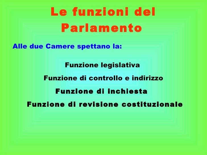 Lezione n 1 storia diritto ed economia for Le due camere del parlamento