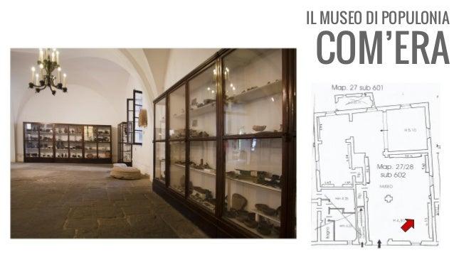 IL MUSEO DI POPULONIA COM'ERA