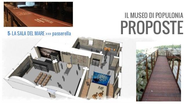 IL MUSEO DI POPULONIA PROPOSTE5- LA SALA DEL MARE >>> passerella