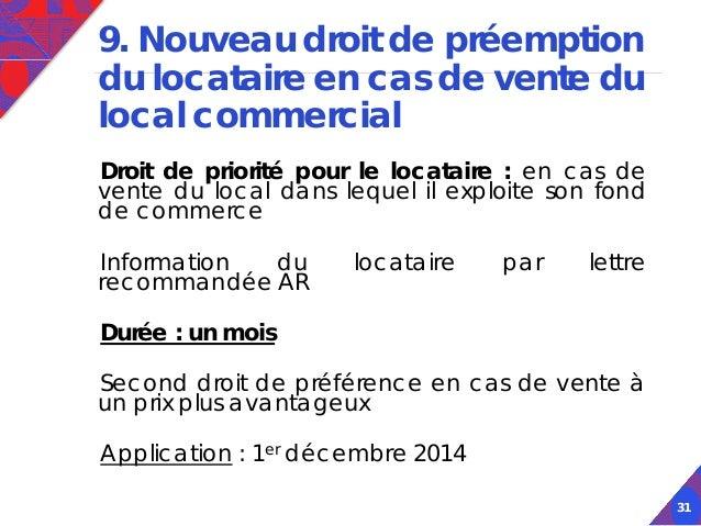 Actualit juridique fiscale et patrimoniale - Droit du locataire en cas de vente ...
