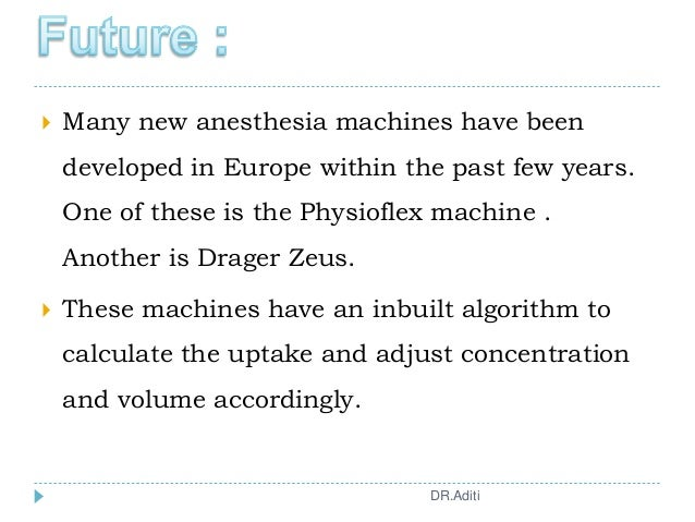  Many new anesthesia machines have been developed in Europe within the past few years. One of these is the Physioflex mac...
