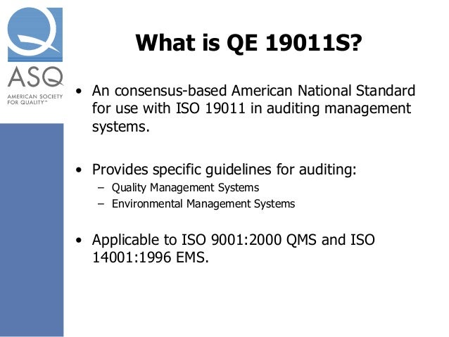 asq ansi iso 19011 2011 guidelines for auditing management systems