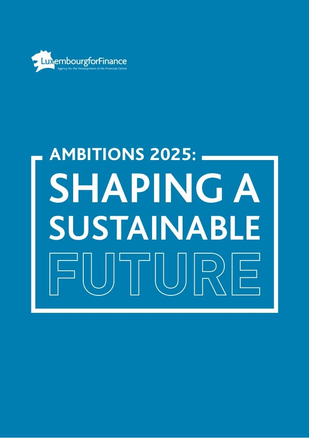 AMBITIONS 2025: SHAPING A SUSTAINABLE