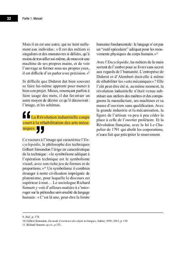 36 Partie 1. Manuel de deviner ses réactions – ce que le phi- losophe Merleau-Ponty nomme «l'être de chose7 ». De cette ...