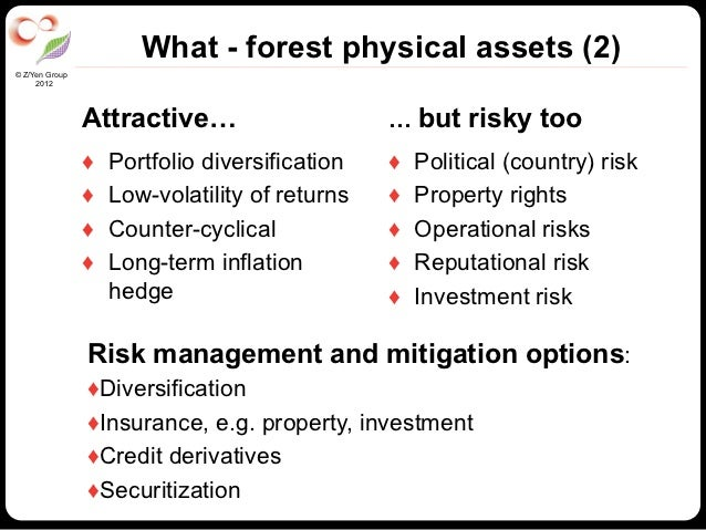 What - forest physical assets (2)© Z/Yen Group     2012                Attractive…                      … but risky too   ...