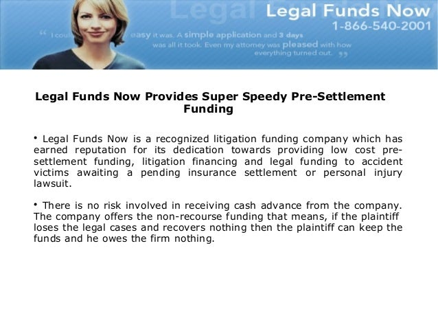The Fast And Easy Way To Get The Legal Financing Slide 3