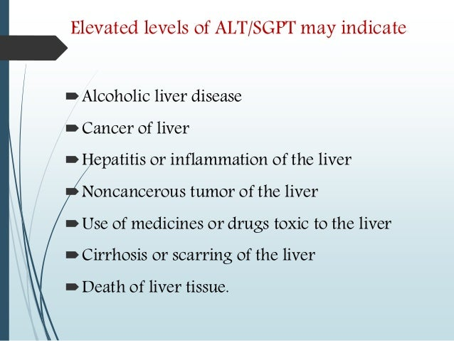 what is high liver count
