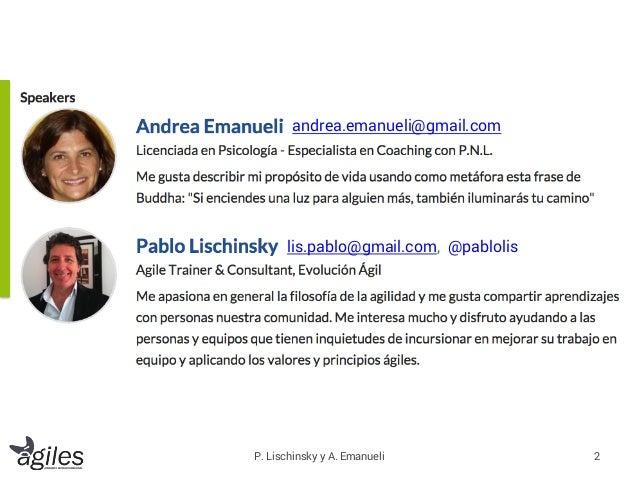 Taller de Resiliencia y Agilidad en la conferencia Ágiles 2015, Montevideo 23/10/2015. Slide 2