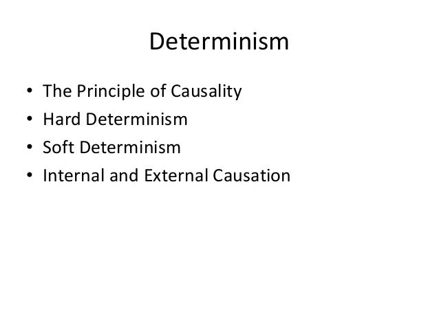 hard determinism vs soft determinism Determinism: soft or hard → calvinism and determinism posted on 11 july 2014 | 8 comments it's often claimed that calvinists are determinists.
