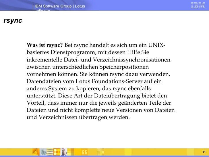rsync Was ist rsync?  Bei rsync handelt es sich um ein UNIX-basiertes Dienstprogramm, mit dessen Hilfe Sie inkrementelle D...