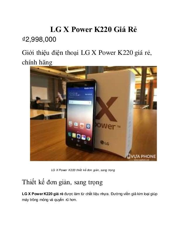 Lg - x- power-k220-gia-re doc vuaphone com