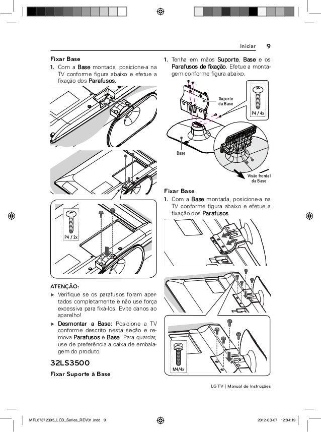 LG 22LS3500 Manual de Instruções da Televisão