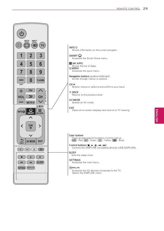 lg47la6200 manual rh slideshare net lg tv remote control codes lg tv remote control codes