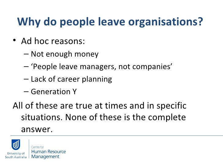 reasons people quit there jobs There are plenty of reasons why employees quit their jobs such as spouses  leaving the country, needing to stay at home with their children or.