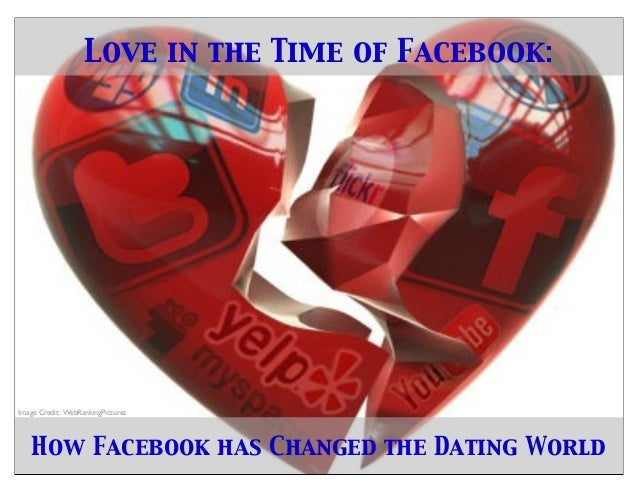 Love in the Time of Facebook:How Facebook has Changed the Dating WorldImage Credit: WebRankingPictures