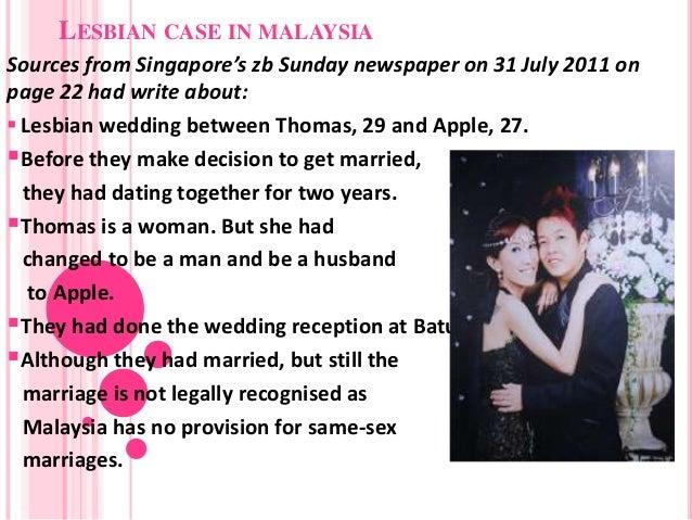 Lesbian dating online malaysia