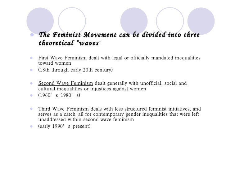first wave of feminism summary
