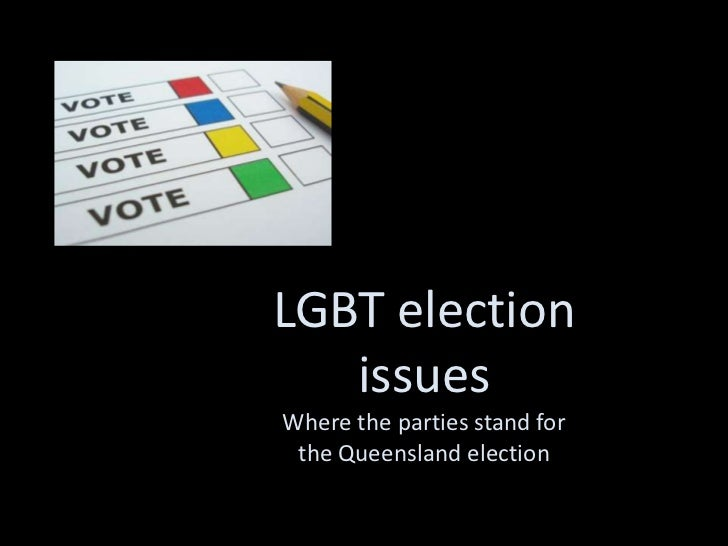 LGBT election   issuesWhere the parties stand for the Queensland election
