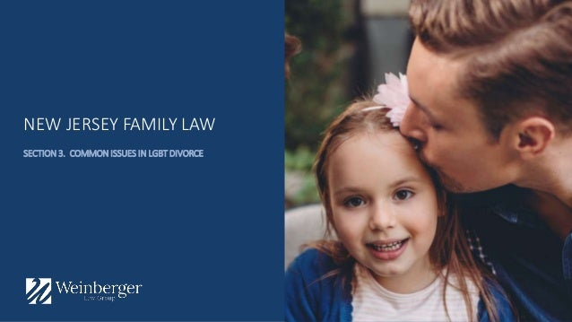 LGBT Marriage Civil Unions and Divorce in New Jersey – Domestic Partnership Agreement