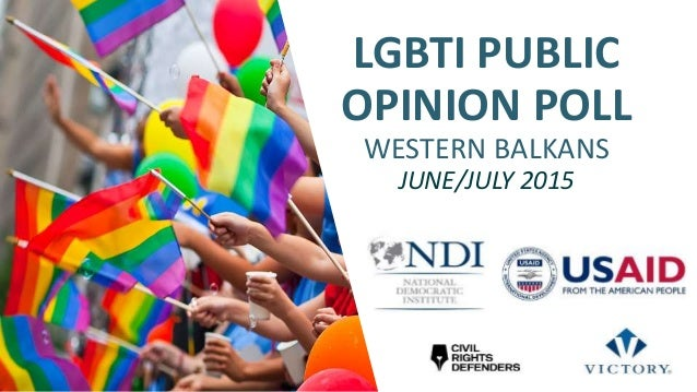 1 11111111 LGBTI PUBLIC OPINION POLL WESTERN BALKANS JUNE/JULY 2015 1 © 2015 Ipsos.