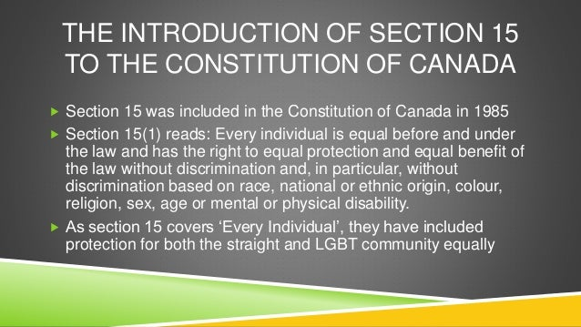 Define homosexual discrimination articles