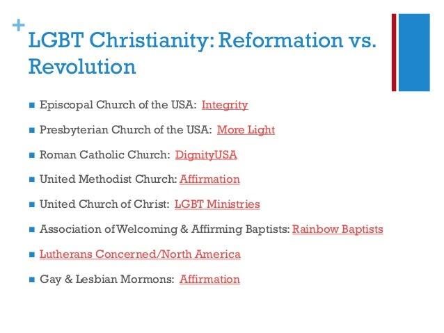 Episcopalians homosexuality in christianity