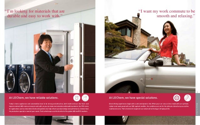 LG CHEM Brochure 2011