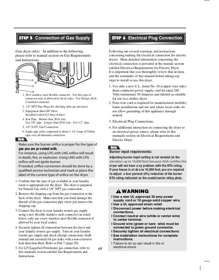 Lg commercial front end dryer user manual 16 18 greentooth Images