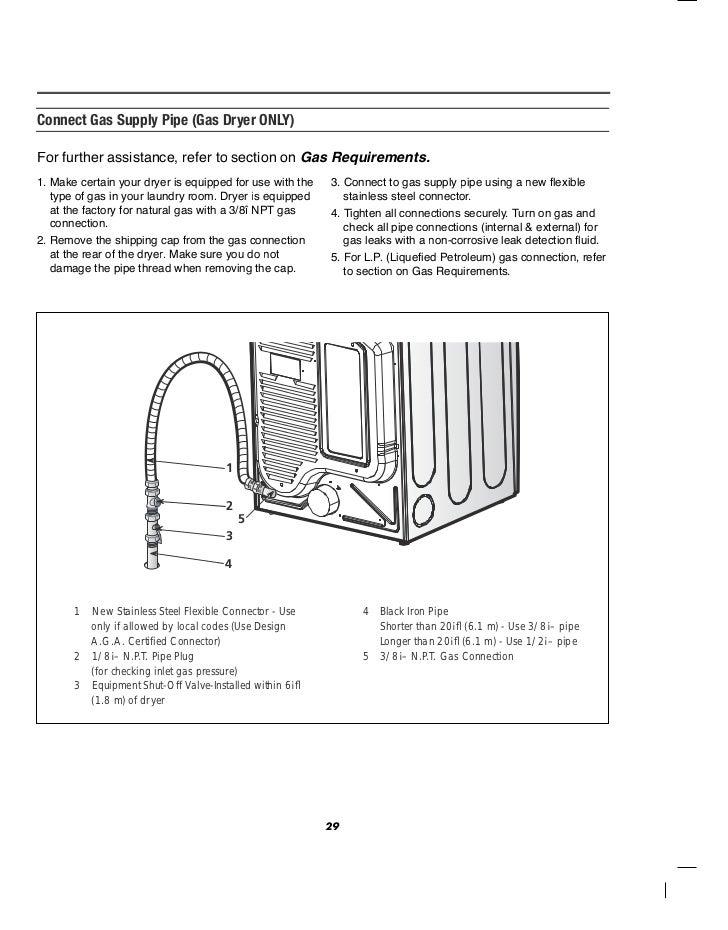 schematic lg dryer vent