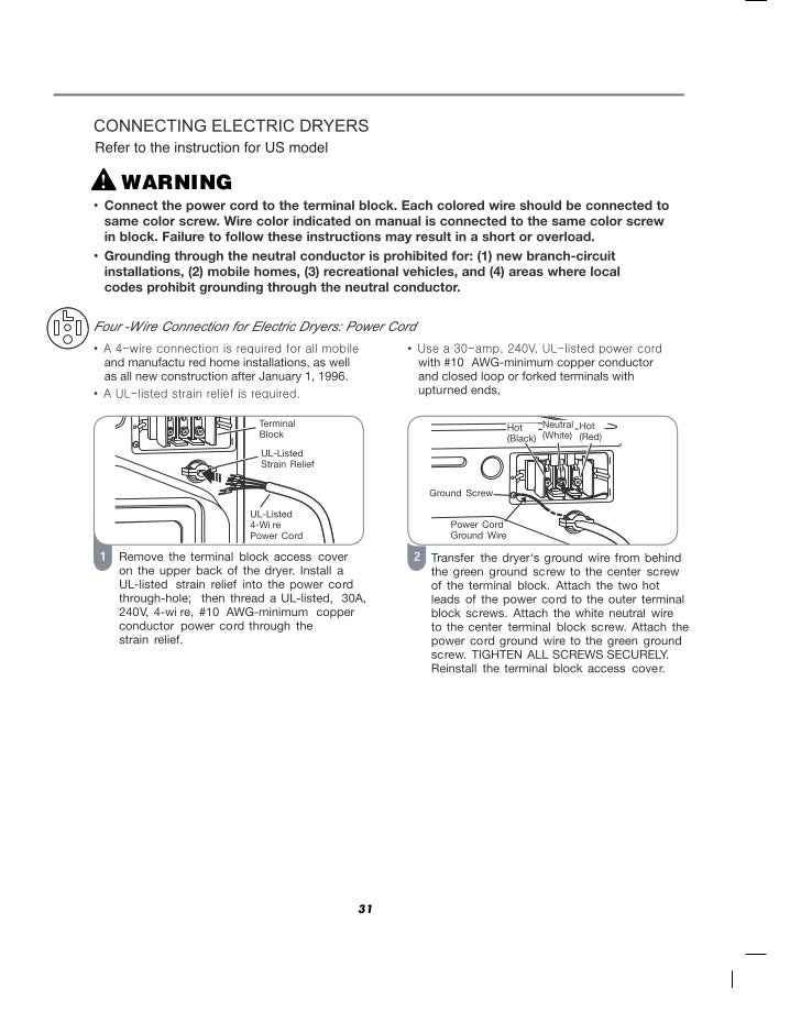 Lg commercial front end dryer user manual warning 31 33 keyboard keysfo Gallery