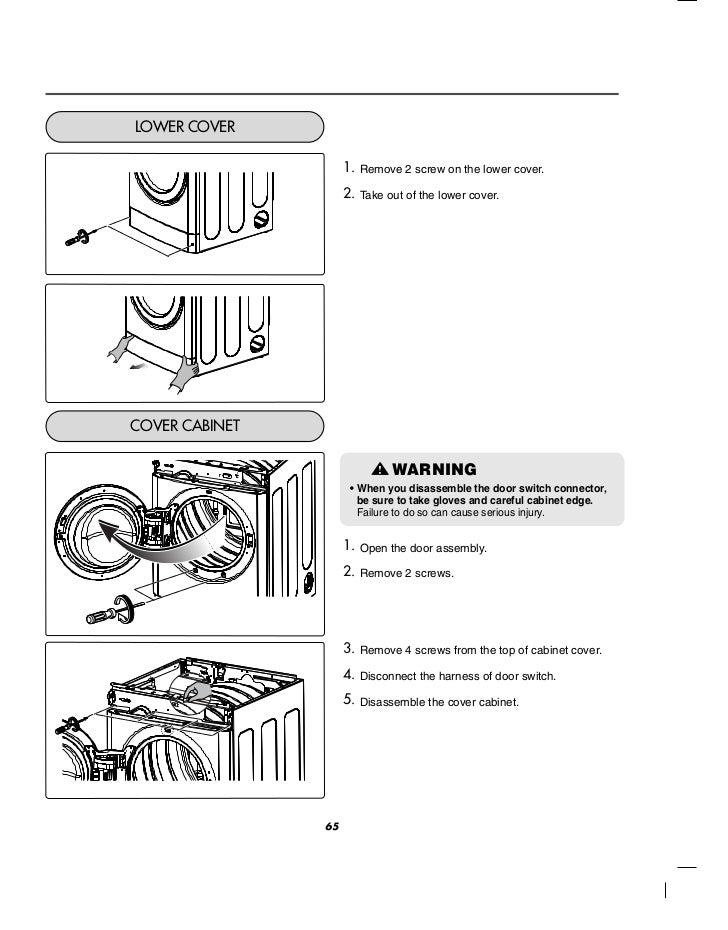 LG Commercial Front End Dryer User Manual
