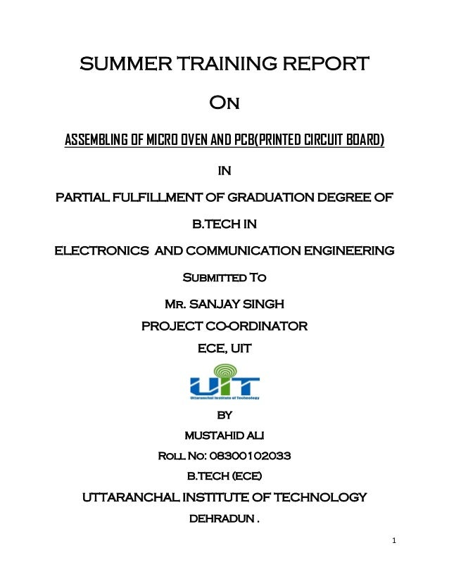 summer interrnship report Indian institute of management bodh gaya takes immense pride in announcing  the successful completion of the summer placement process for the batch of.