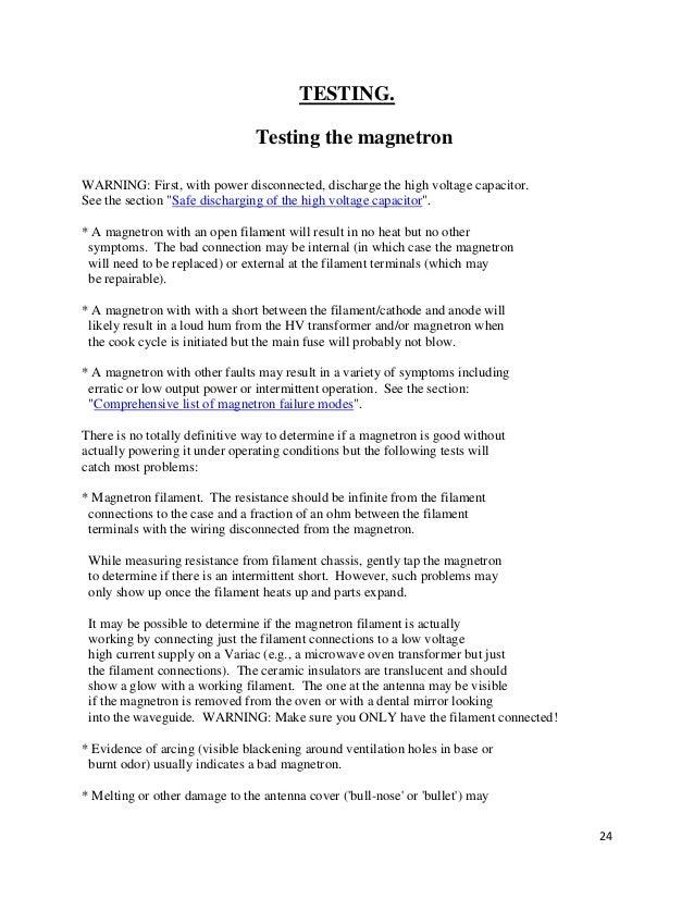 8 cavity magnetron pdf