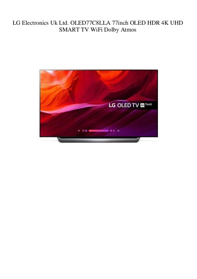 LG Electronics Uk Ltd  OLED77C8LLA 77inch OLED HDR 4K UHD