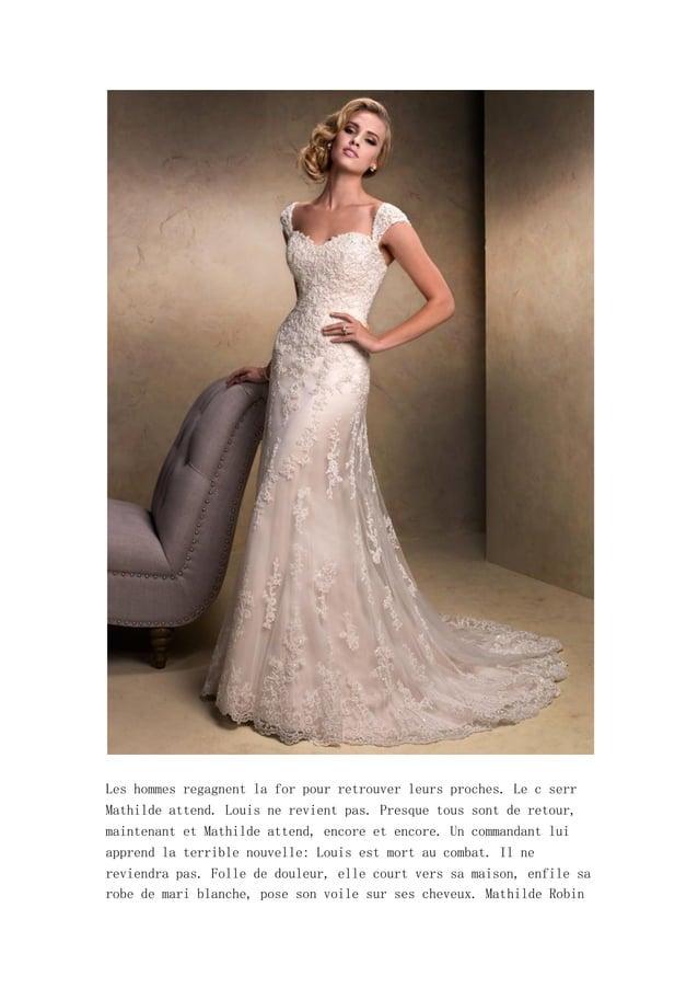chute Montmorency, la nuit, vous apercevrez sans doute une fr jeunefille v d longue robe blanche. C le fant de Mathilde, l...