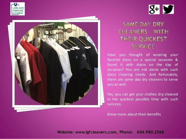 Website: www.lgfcleaners.com, Phone: 604.980.2568 Have you thought of wearing your favorite dress on a special occasion & ...
