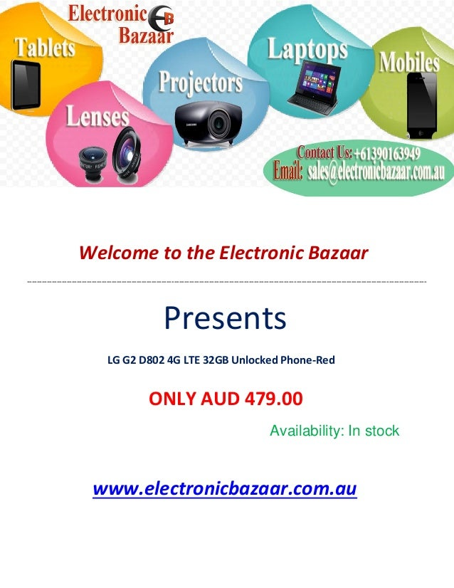Welcome to the Electronic Bazaar -----------------------------------------------------------------------------------------...