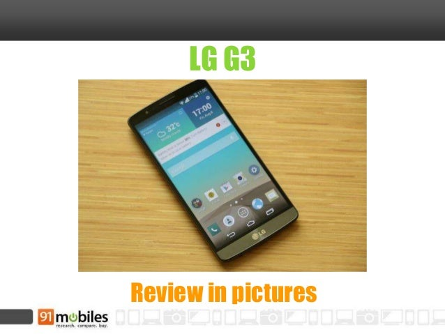 LG G3 Review in pictures