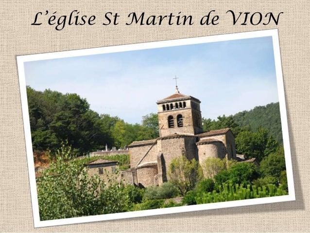 L'église St Martin de VION