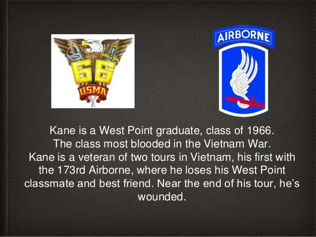 Kane's second tour is with Special Forces, including running highly classified cross-border missions.
