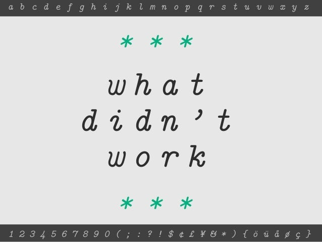 Designing a Libre Font Specimen Book