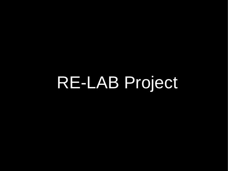 RE-LAB Project
