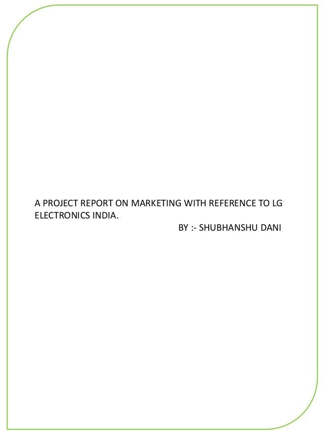 LG Marketing and Branding Strategy