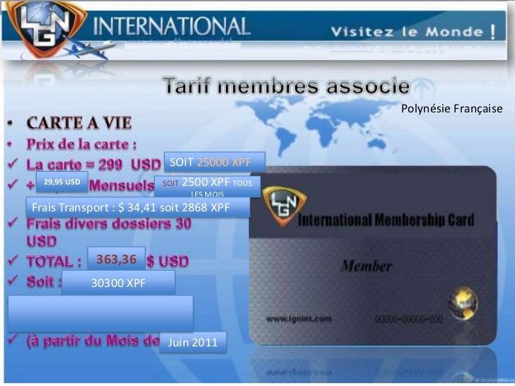 Polynésie Française<br />SOIT 25000 XPF<br />29,95 USD<br />SOIT 2500 XPF TOUS LES MOIS<br />Frais Transport : $ 34,41 soi...