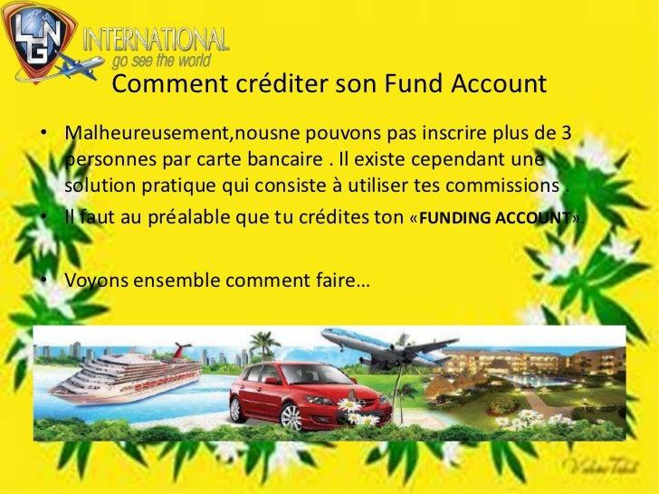 Comment créditer son FundAccount<br />Malheureusement,nousne pouvons pas inscrire plus de 3 personnes par carte bancaire ....
