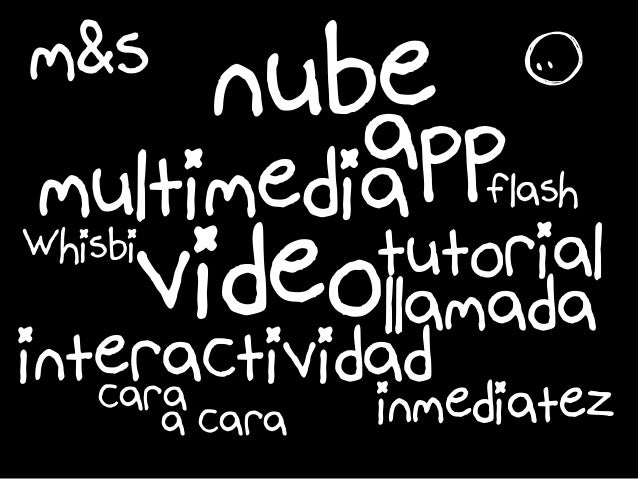 m&s nube multimediaappflash r interactividad tutorialvideollamada inmediatezcara a cara Whisbi