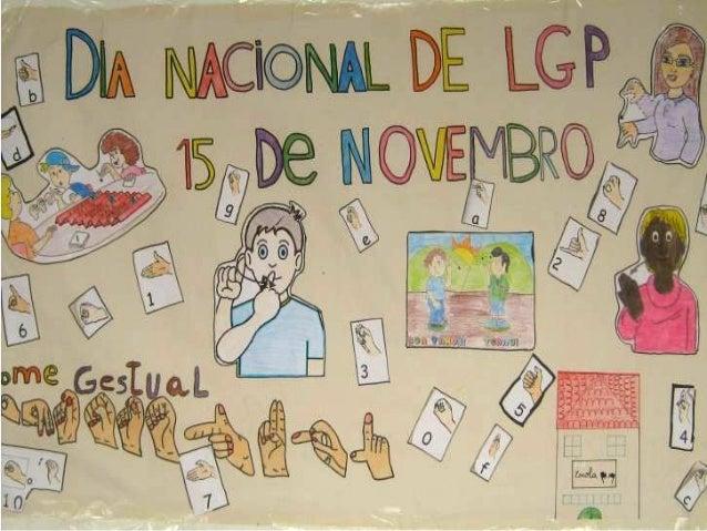 """""""Comemoração do Dia Nacional da L.G.P.""""        No dia 15 de novembro, as turmas S2, S1 e S0comemoraram o Dia Nacional da L..."""