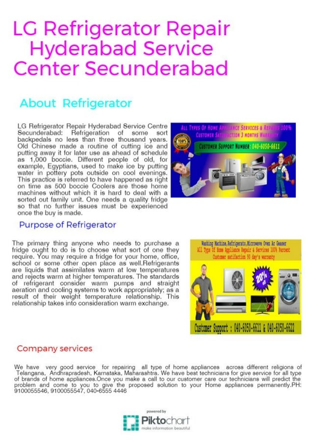 LG Refrigerator Repair Hyderabad Service Center