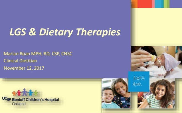 LGS and Dietary Therapies