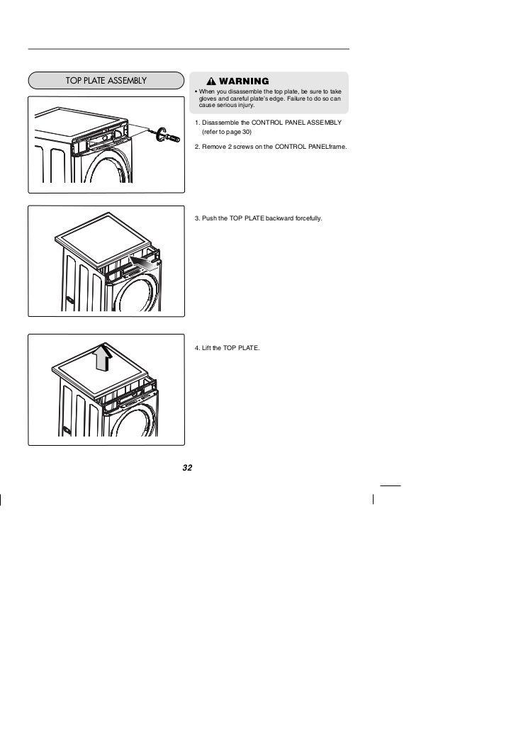 LG Commercial Washing Machine User Manual